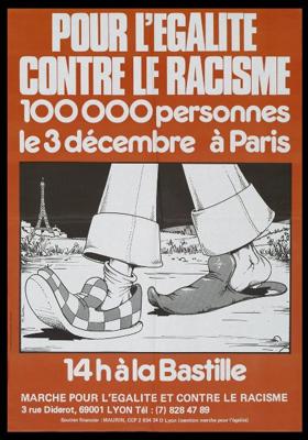 30ème anniversaire de la Marche pour l'égalité et contre le racisme