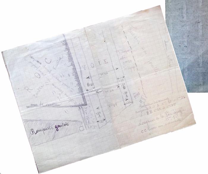 Carnets de fouilles. La documentation archéologique immergée (1898-1946). Deux cas d'études, entre Gaule et Italie préromaine
