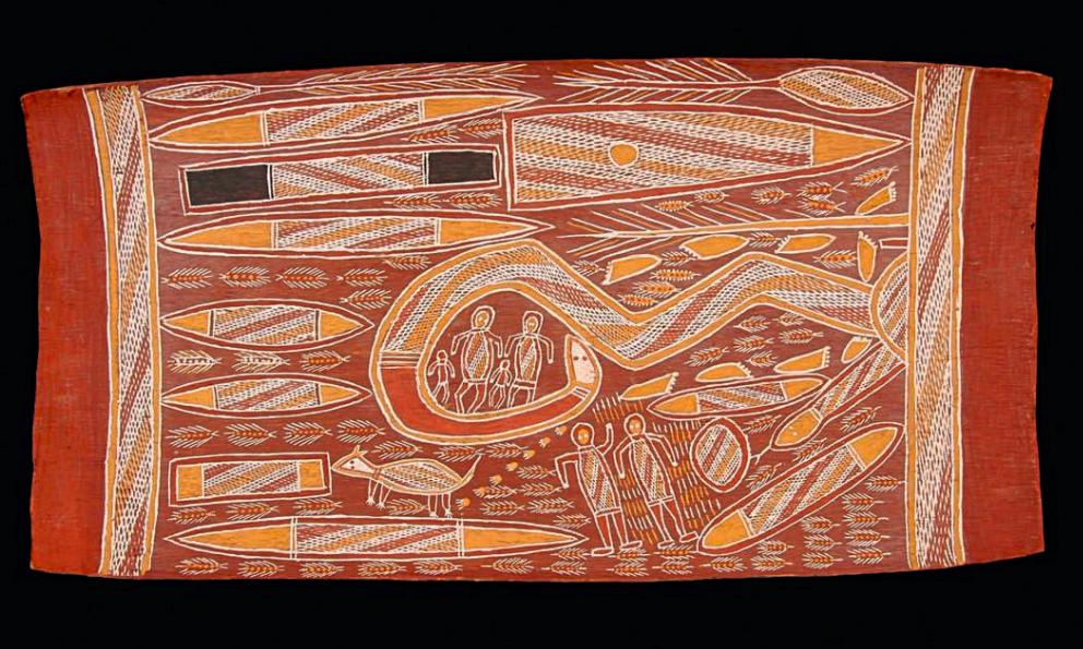 Cartographie d'une collection : les peintures sur écorce de la collection Karel Kupka (Terre d'Arnhem, Australie)