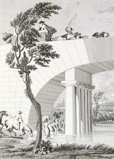 Architecture, littérature, philosophie et société au tournant des Lumières :
